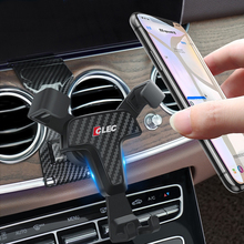 Support de téléphone portable pour mercedes benz classe E W213, 2017, 2018, fixation sur grille de ventilation, pour Mercedes Benz classe E 2019