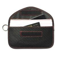1XJamming Tasche Signal Blockieren Tasche Faraday Tasche Schild Käfig Beutel Brieftasche Telefon Fall Für Handy Privatsphäre Schutz Auto schlüssel FOB-in Schlüsseletui für Auto aus Kraftfahrzeuge und Motorräder bei