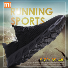 Xiaomi Light Running Shoes Flyknit Breathable Lace-Up Jogging Shoes
