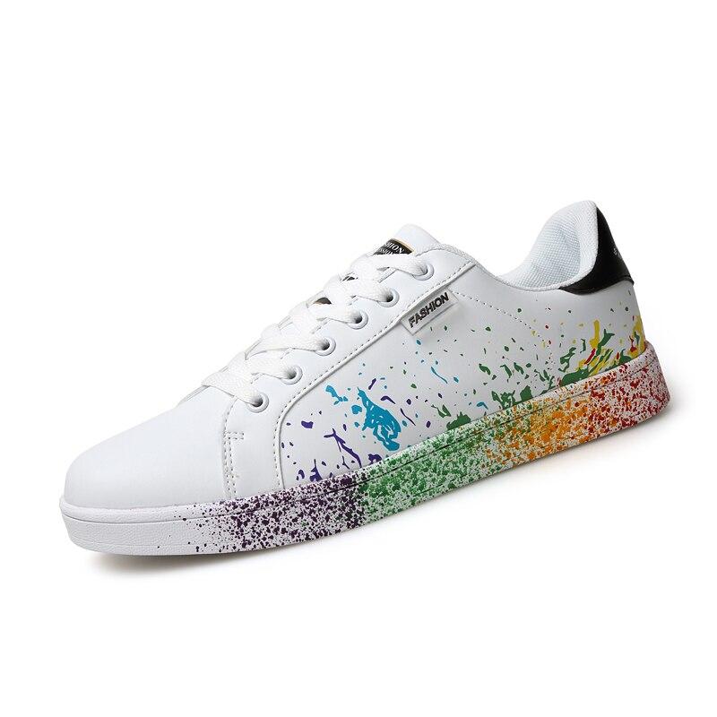 Unisex Skateboard Shoes Men Women Outdoor Flats Sneakers Couple Shoes (73)