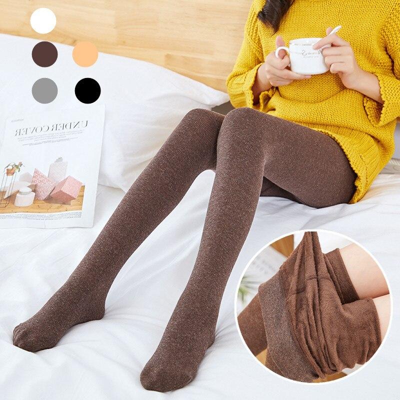 Kids's Trousers New Children Girls Leggings For Late Autumn Velvet Leggings Girls Skinny Thick Kids Legging