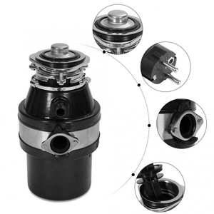 Grinding-Tool Food-Waste-Disposers for Kitchen-Supplies Disposal-Device Stage Electric