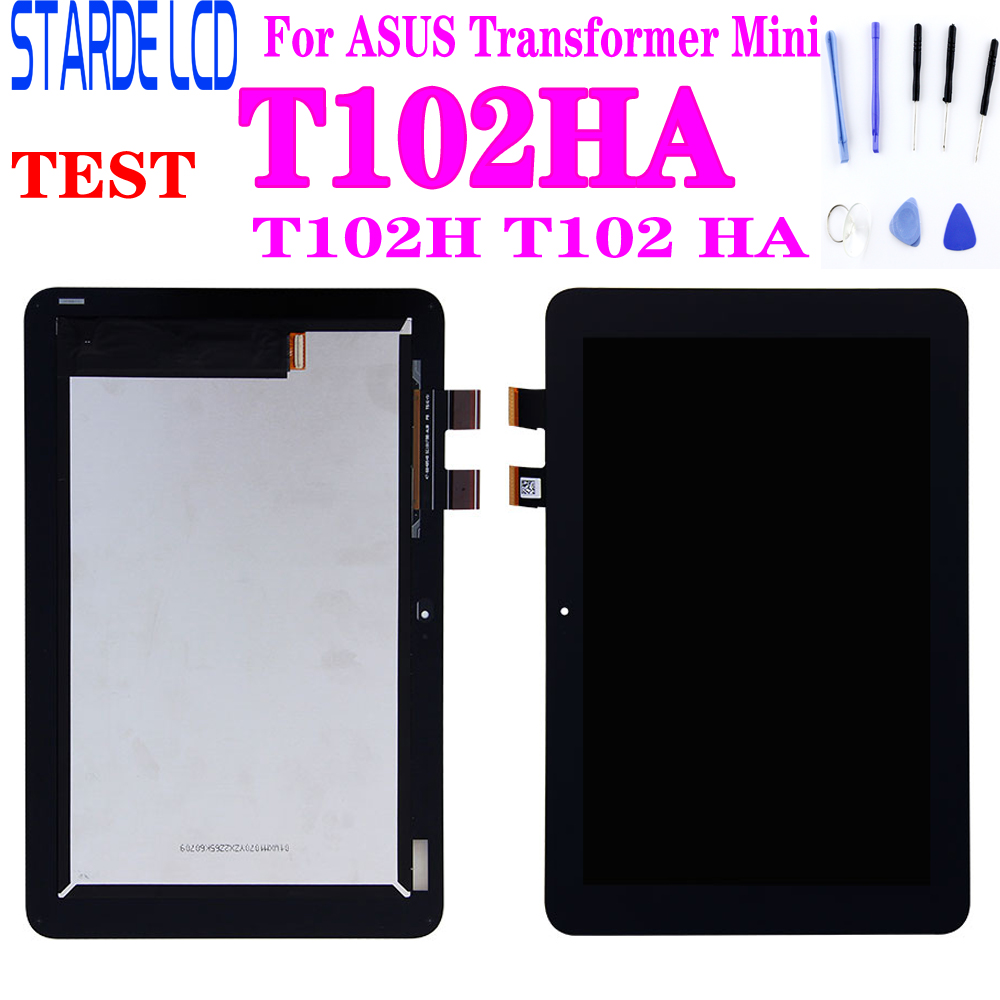 "New 10.1"" For ASUS Transformer Mini T102HA T102H T102 HA LCD Display Touch Screen Digitizer Sensor Assembly Replacement Parts"