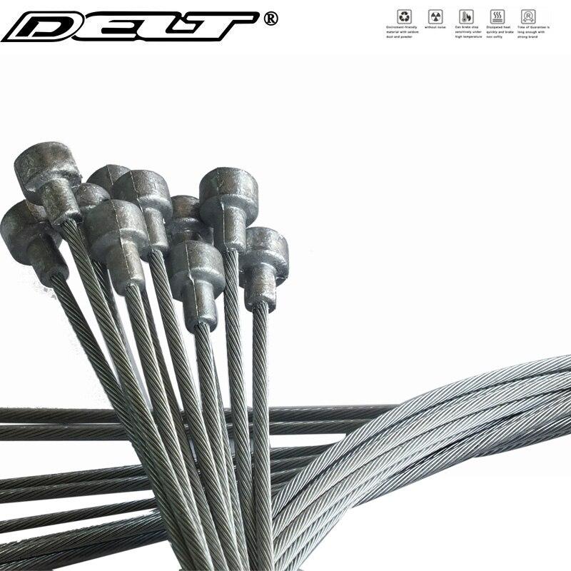 10 шт. x фиксированная Шестерня для велосипеда MTB дорожный Велосипедный тормозной кабель Внутренний сердечник 900 мм/1800 мм Запчасти Аксессуары