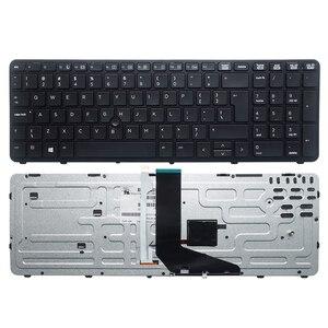 Image 3 - GZEELE NEUE Englisch laptop beleuchtete tastatur FÜR HP für ZBOOK 15 17 G1 G2 PK130TK1A00 SK7123BL UNS schwarz Rahmen