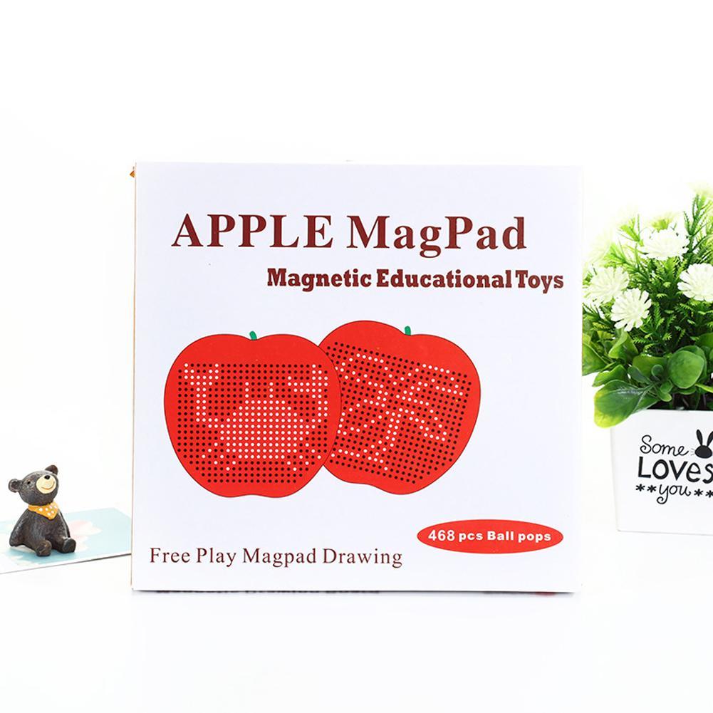 Большой магнитный пластиковый милый и удобный в переноске Детский развивающий игрушечный блокнот для письма привлекательный подарок на день рождения красивый