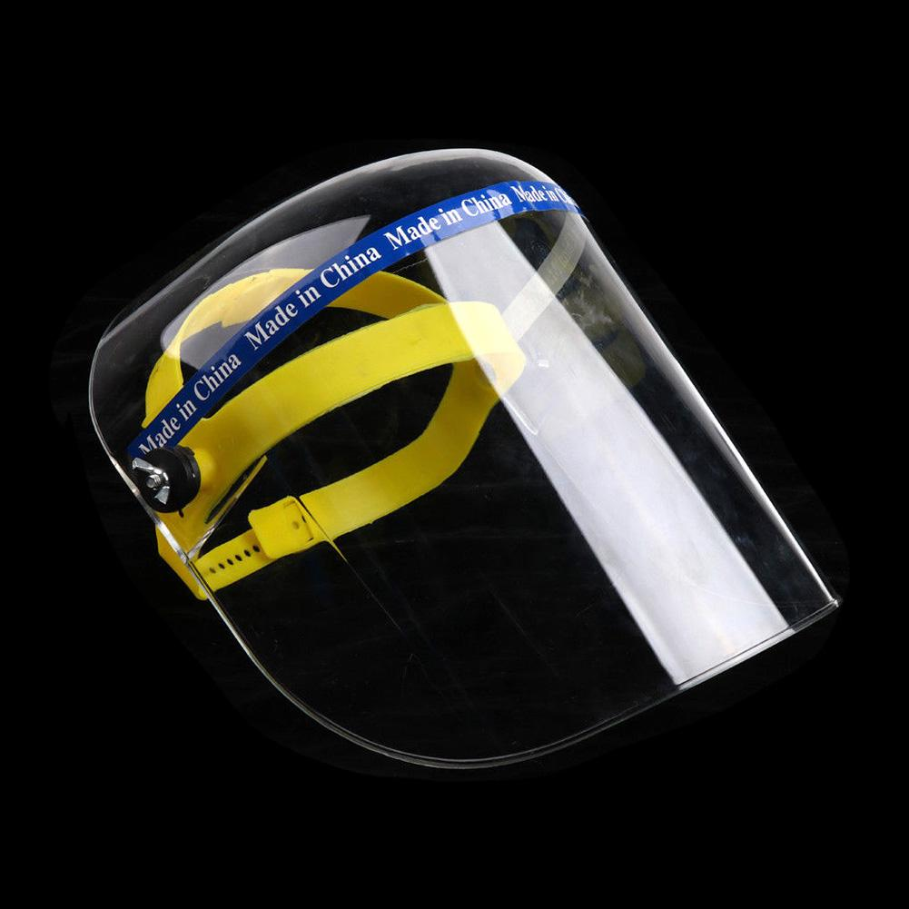 Safety Face Shield Grinding Solder Mask Bionic Glass Helmet Protector Cap CoverSoft Padding On Head Strap Provides A Comfortable