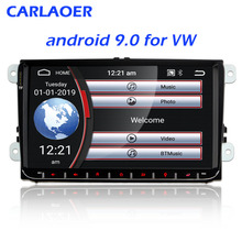 Android 9,0 2Din для VW/Volkswagen/Golf/Polo/Tiguan/Passat/b7/b6/leon/Skoda/Octavia автомобильный Радио gps 2 DIN Автомобильный мультимедийный плеер