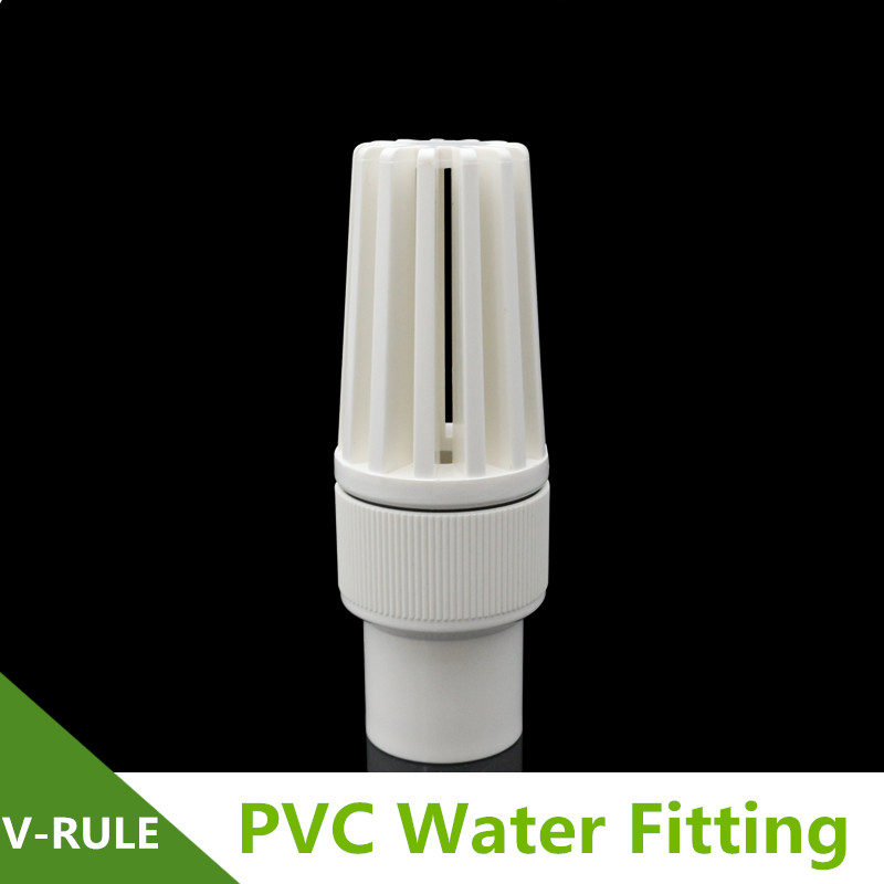 32/40/50/63/75/90 110 PVC Water Pipe Foot Bottom Valve Pump Special Valve Replacement