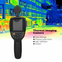 HT-19 Handheld IR Digital Thermal Imager Detector Camera Infrared Temperature Heat with Storage Match Seek/FLIR Therma