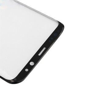 Image 5 - S8 S8 artı S9 not 8 not 9 10 ön dış cam lens kapağı ile OCA tutkal Samsung Galaxy S10 S10 artı LCD cam araçları