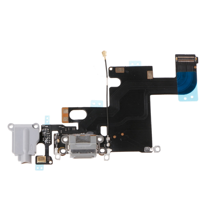 USB Charging Port Connector Micphone Earphone Jack Flex Cable Parts For IPhone 6 J6PB