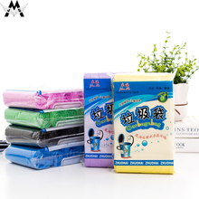 5 Volumes/lot 500pcs Disposable Garbage Bags Household Thickened Plastic Kitchen And Bathroom Trash Daily Necessities