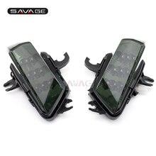 Ön LED dönüş sinyalleri gösterge KAWASAKI Z1000SX NINJA 1000/R 2011 12 13 14 15 2016 motosiklet aksesuarları işık flaşör