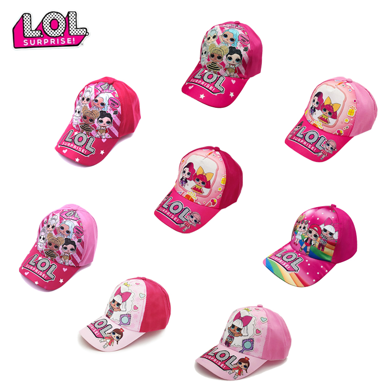 The New LOL Surprise Dolls Birthday Party Theme Hat Decoration Supplies Holiday Cap LOL Hat Cap Hop Fitted Cap Hats Kids Gifts