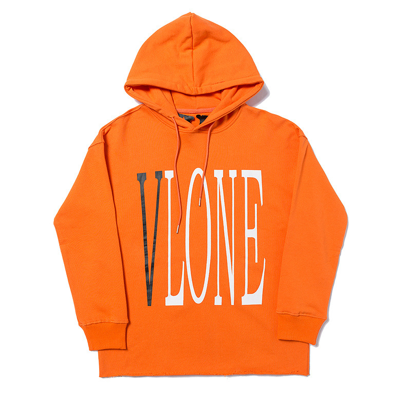 Vlone Classic Orange Hoodie 1