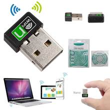 150Mbps Mini USB Wireless WiFi Adapter Soft AP Wifi Adapter Built-in Antenna USB2.0 Hi-Speed Connector USB WiFi Adapter(China)