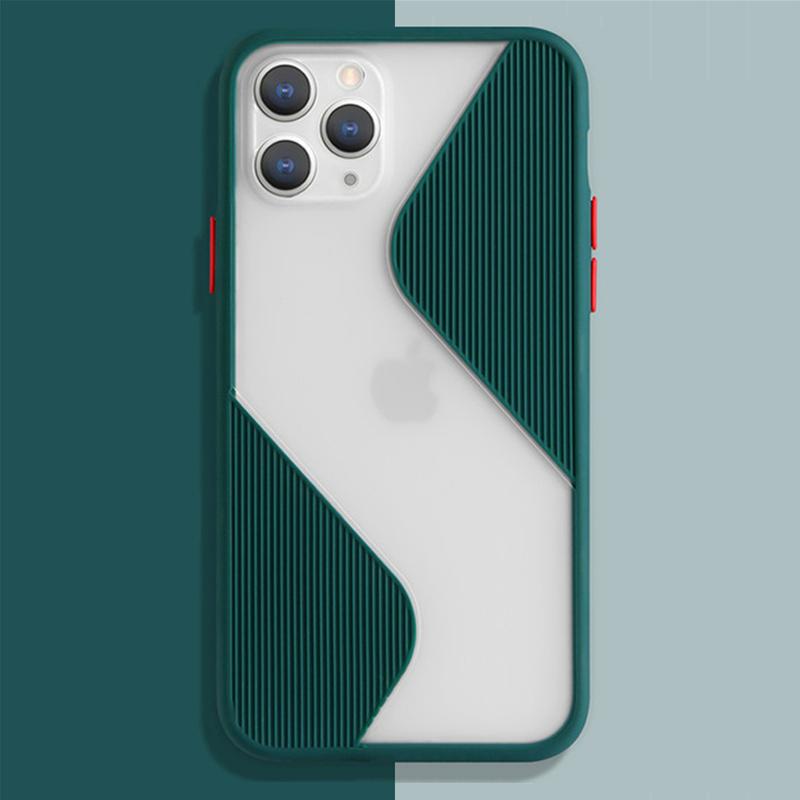 Shockproof Phone Case Back Cover For iPhone 11 Pro Max SE 2020 Splice Translucent Case For iPhone XS Max X XR 8 7 6 6S Plus Case