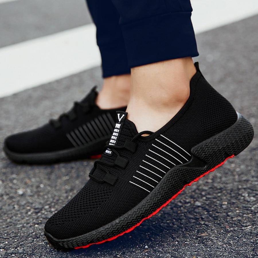 Breathable Mesh Men Sneakers Shoes Men