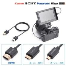 HDMI2.0 Very super flexible cable 4K60P Mini Micro Digital S