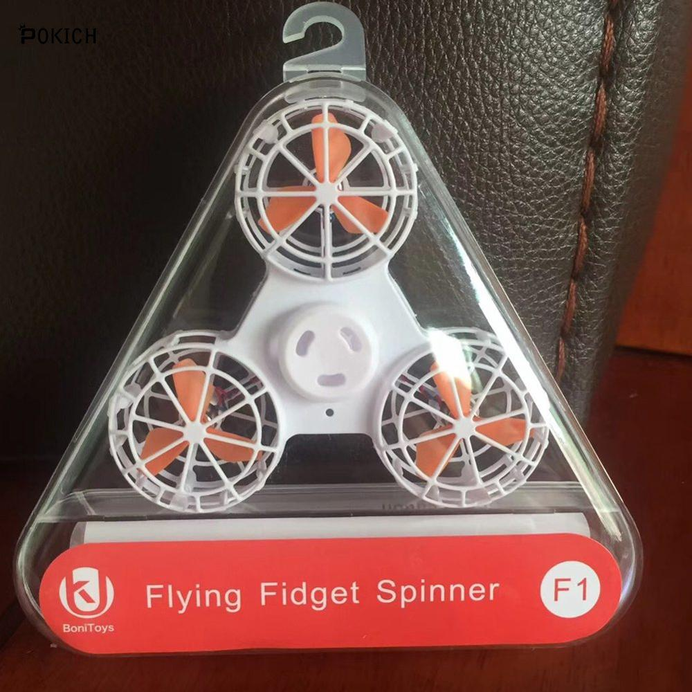 Fidget Spinner Tri-Spinner Aluminum Metal Poodle