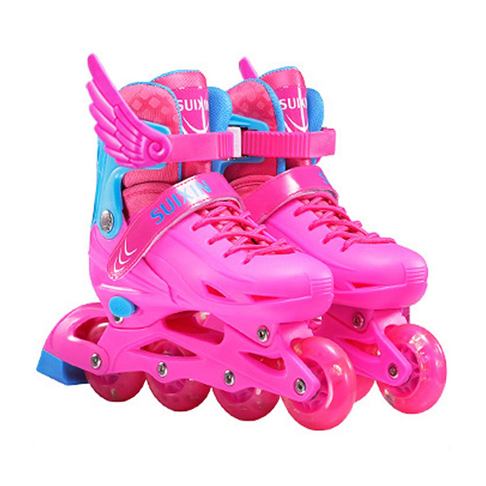 Inline Speed Skates Shoes Hockey Roller Skates Sneakers Rollers Kids Roller Skates For Children Skates Inline Professional