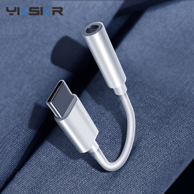 Type C 3.5mm Aux Adapter Usb C To 3.5MM Headphone Jack Adapter Audio Cable For Samsung Note 10 Plus Xiaomi Google Pixel 3 OPPO