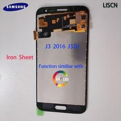 Oryginalny wyświetlacz do Samsung Galaxy J3 2016 J320 J320A J320F J320P J320M J320Y ekran dotykowy Digitizer żelaza LCD podobne AMOLED w Ekrany LCD do tel. komórkowych od Telefony komórkowe i telekomunikacja na