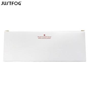 Justfog – Kit de dosettes C601 originales, 30 pièces/lot, cartouche de Cigarette électronique, réservoir de Vape, capacité de 1.7ml, ohm