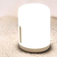 HHO Xiaomi Mijia Bedside Lamp 2 Smart Light Voice Control Contact Switch Mi Home App Led Bulb for Apple Homekit Siri Eu Plug