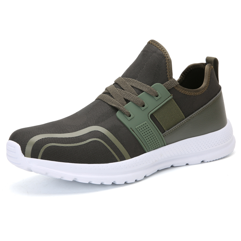 Sumer Mesh Breathable Shoes Men Train Tenis Outdoor Sport Men Sneakers Slip On Lightweight Big Size Casual  Shoes