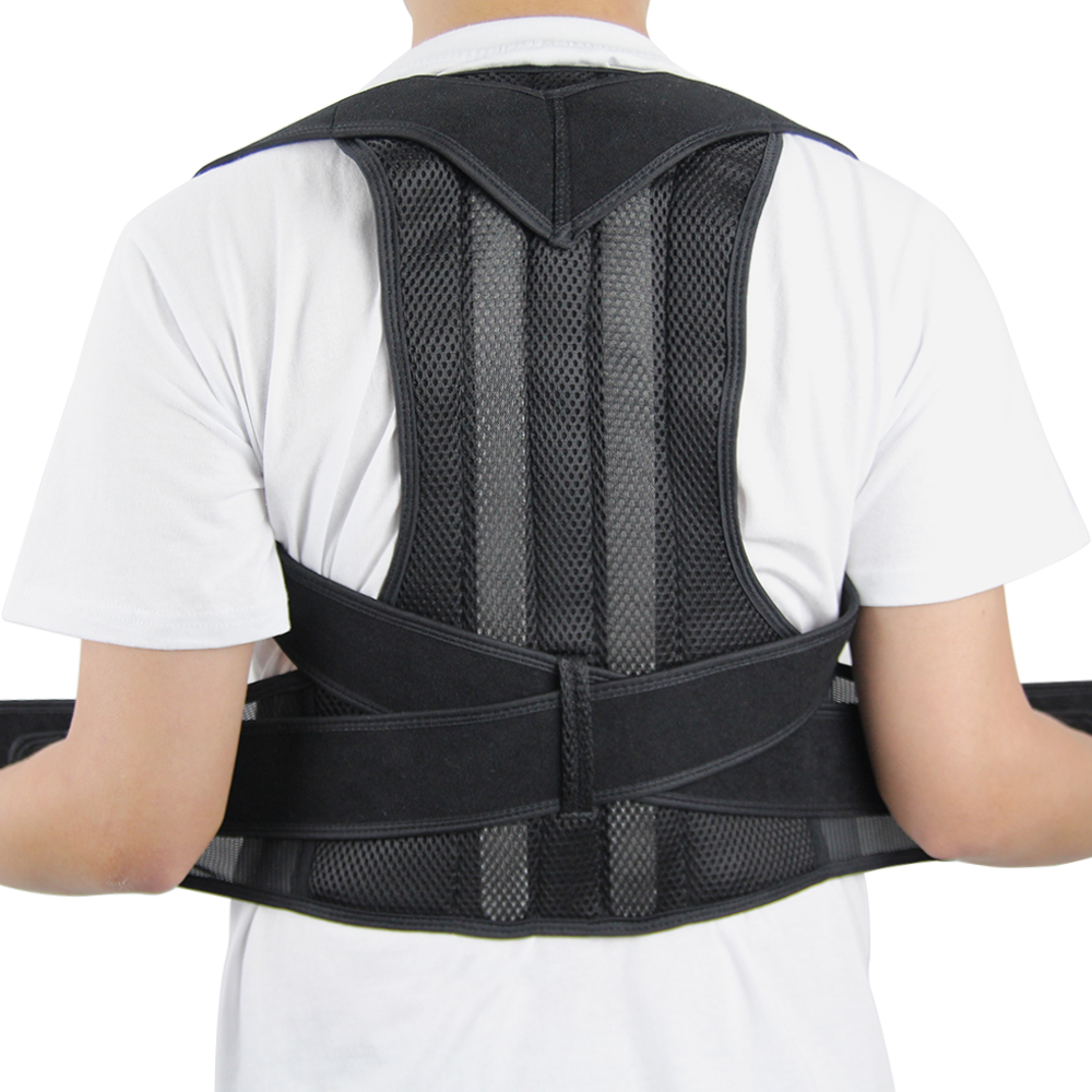 Adjustable and Comfortable Posture Corrector Belt Helps to Correct Wrong Body Posture of Back and Shoulders 12