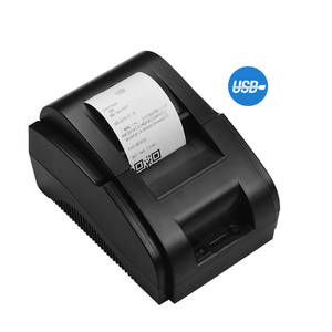 Direct-Thermal-Receipt-Printer Drawer Clear-Printing Compatible 58mm Bill USB with Commands-Set