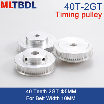 powge 30 teeth 2m 2gt timing pulley bore 5 6 6 35 7 8mm for 2mgt gt2 synchronous belt width 6 9mm small backlash 30teeth 30t 40 Teeth 2GT 2M Timing Pulley Bore 5mm for GT2 Synchronous belt width 10mm small backlash 40Teeth 40T