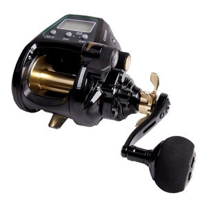 Image 2 - ECOODA  electric reel left/ right  hand reels EZH3000 EZH5000 bearing reel 12 Sea fishing wheel  Tension 15kg