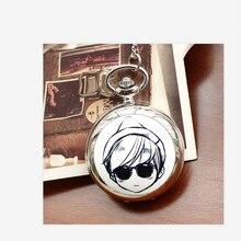 2019 ретро стиль мужчины и женщины карманные часы ожерелье кварцевые мода эмаль мультфильм дети женщины Relogio женщина для