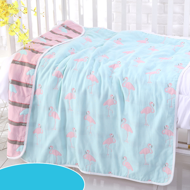 Couvertures en mousseline à 6 couches pour bébé   Couverture 100% coton en gaze, pour nouveau-né, ensemble de langes multiples et de grande taille, 120*150cm, bain pour nouveau-né