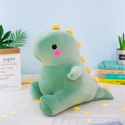 Super macio adorável dinossauro pelúcia boneca huggable dos desenhos animados recheado dino brinquedo para crianças bebê abraço huggable animais pelúcia travesseiro brinquedo