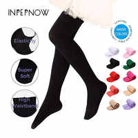INPEPNOW Baby Tights for Girls Tights for Children Candy Color Nylon Kid's Pantyhose Girls Stocking Dance Infant Ballet Tights