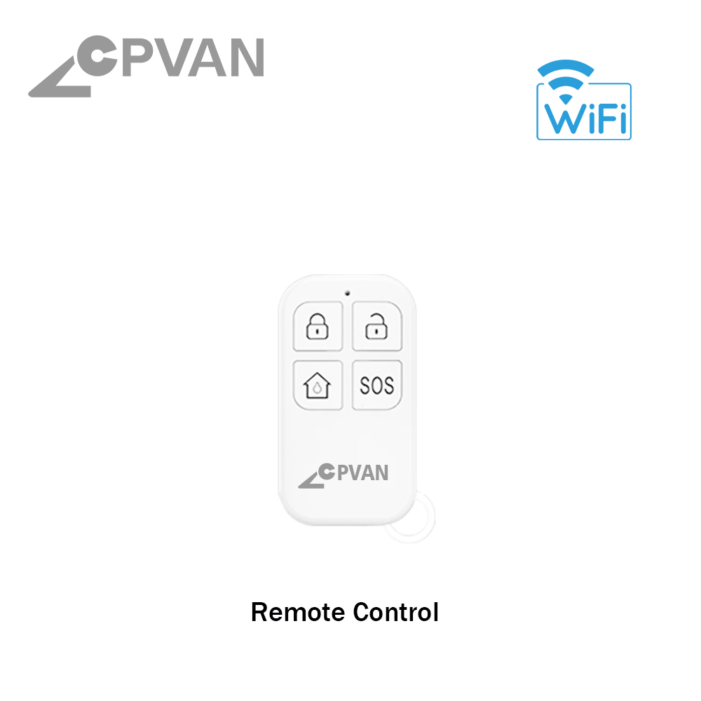 Hf4bce04b3ad847b89c37f31cf735d1edn - CPVAN Wireless Doorbell Alarm System Smart WIFI Doorbell Strobe Siren Tuya App 58 Sound Compatible Home Security Alarm System