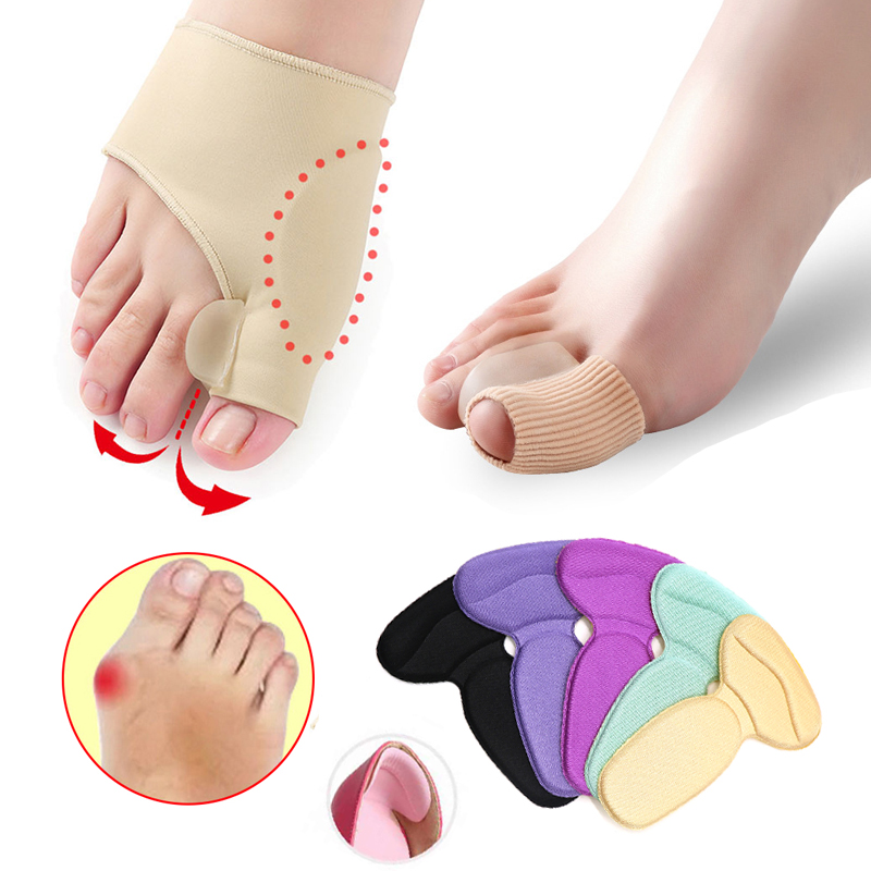 1/2/3Pair Hallux Valgus Bunion Corrector For Pedicure Feet Care Toe Corrector Thumb Straightener Gel Cushion Pad Foot Care Tools