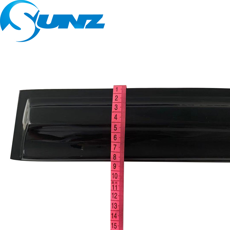 Image 3 - Side Window Deflector For HONDA CIVIC 2006 2007 2008 2009 2010 2011 sedan Window Visor Vent Shades Sun Rain Deflector Guard SUNZ-in Awnings & Shelters from Automobiles & Motorcycles