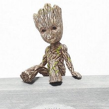 6CM Disney Guardians Of The Galaxy Tree Man Groot Action Toy Figure Doll Model Cartoon Movie Avengers Mini Groot Toys Kids Gifts