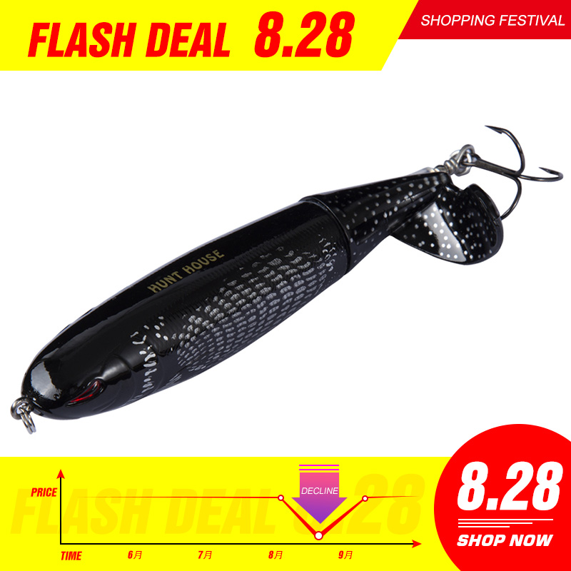 Whopper Plopper Leurre 9cm Woper Popper 9cm 13cm 39 Gr 90 130 Japan Fishing Hard Plastic Bait Topwater Lures Japan Made