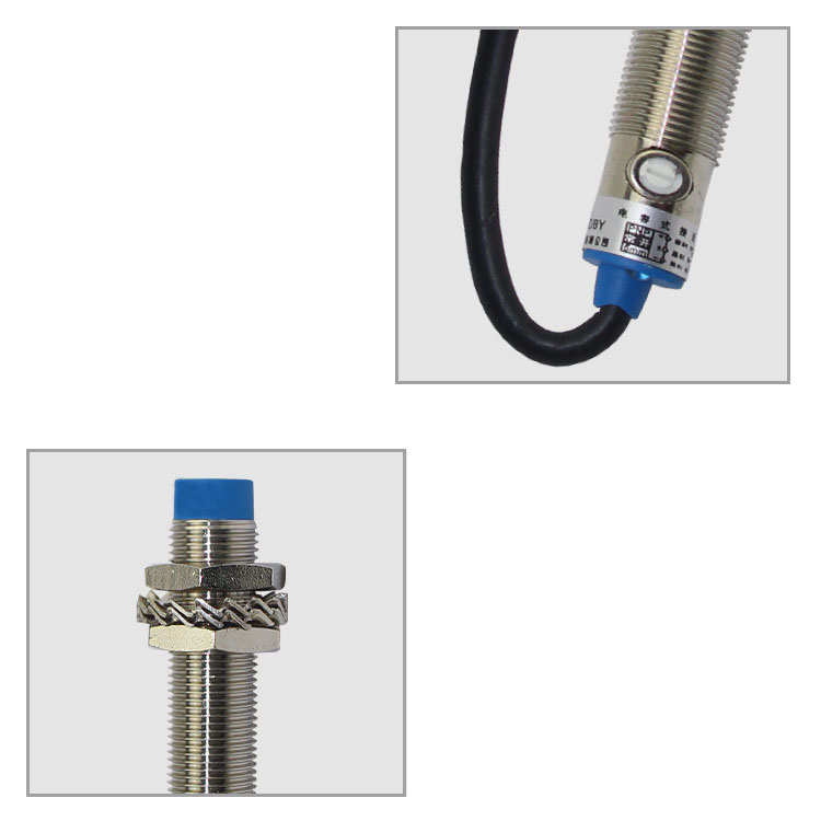 Capacitance Type Capacitive Proximity Switch LJC12A3 A Z AY DC Three wire Liquid Level Metal Sensor 24v PNP NPN NO NC 5mm in Switches from Lights Lighting