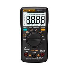 Aneng an8009 multímetro digital 9999 contagem true-rms escala automática ncv ohmímetro ac/dc tensão amperímetro temperatura do medidor de corrente