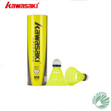 Echte Kawasaki Badminton Kunststoff Nylon Ball N9 Für Training 6 Pcs federball(China)