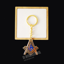 Masonic Key Chain Badge Mason Freemason   exquisite accessories Key Ring