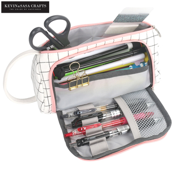 Nuevo Super estuche para lápices kawaii gran capacidad estuche para lápices escolares suministros bolsa para lápices caja escolar bolso de lápices papelería