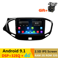 9 Android Car Radio Multimedia Video Player for Lada VESTA 2015 2016 2017 2018 2019 tape record GPS Navigation 4G wifi 2G RAM